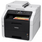Brother MFC-9330CDW Color Laser Fax, Copier, Printer, Scanner w/Wireless Network and Duplex  Specifications:      ~33.6 Kbps / 200 speed dials     ~Up to 23 cpm / ppm     ~Up to 600 x 2400 dpi     ~250 sheet input tray     ~35 sheet ADF     ~8.5 x 11 platen; 14 paper     ~Automatic duplex printing     ~3.7 color TouchScreen display     ~Web connect touch interface     ~Mobile device enabled     ~USB, Ethernet, WiFi     ~192 MB (Windows / Mac)     ~1 yr warranty, 30 days return     ~16 x 19 x 16 / 51 lbs     ~TN221x toners, DR221CL drum