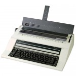 Nakajima AE-710 English Electronic Typewriter  Specifications:      ~15 carriage     ~11.5 print width     ~Up to 20 cps     ~1 , 1.5 , 2 line spacing     ~10, 12, 15, PS pitch selections     ~700/10 correction memory     ~Word and character erase     ~Prestige Pica 10 included     ~1 year limited warranty     ~19 x 16 x 6 / 17 lbs     ~Uses: XC001 or HYC01 ribbons     ~NAKLO001 lift off tape
