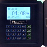 Acroprint timeQplus Magnetic or Barcode Terminal