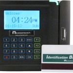 Acroprint timeQplus Magnetic Terminal With Badge